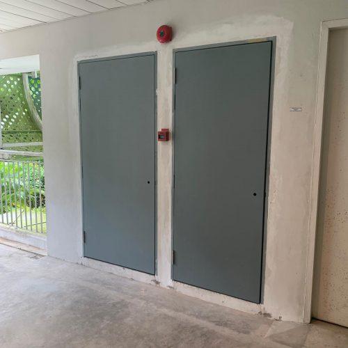 Gate Door Window Fire Rated Door Commercial