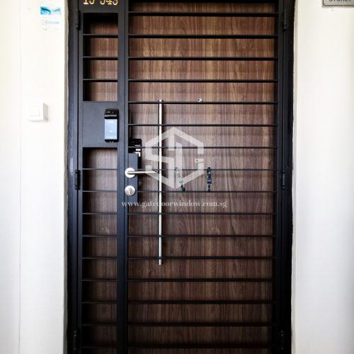 Gate Door Window HDB Main Gate Design