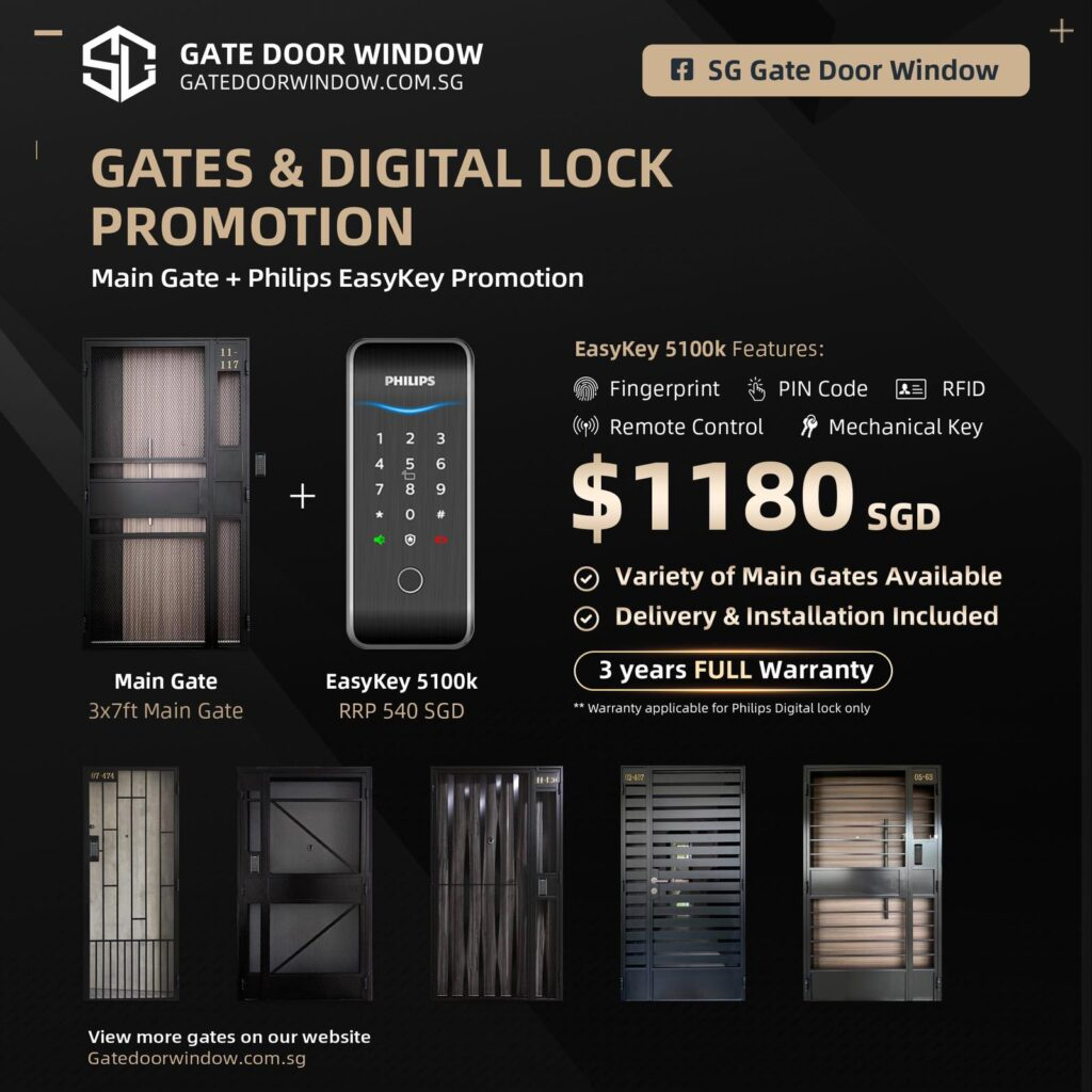 Laminated door promotion digital lock phillips package
