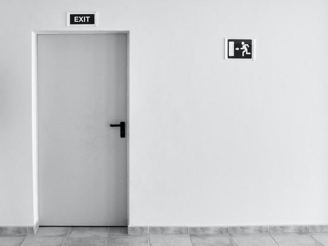 HDB fire door