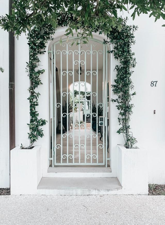 HDB main gate white 1