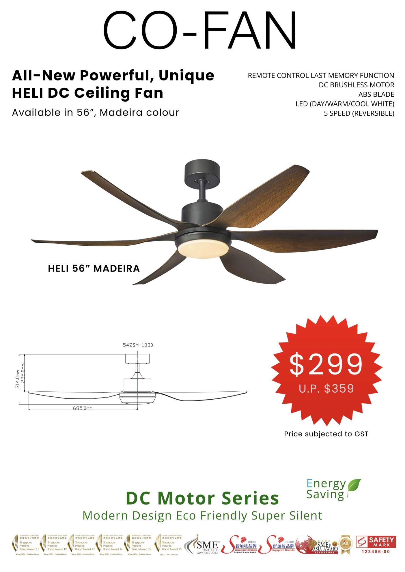 ceiling fan poster