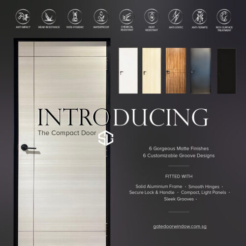 introduction for compact door