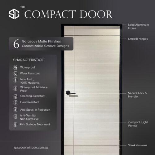 compact door design